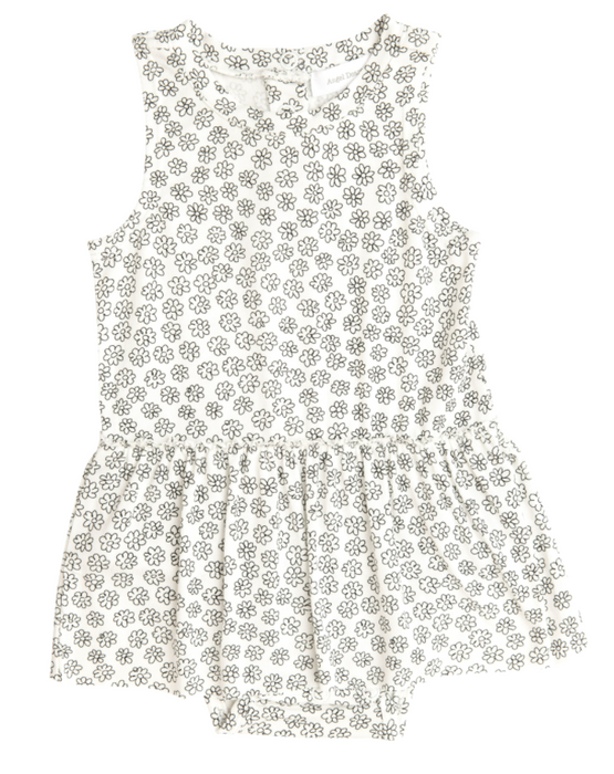 Doodle Daisy Bodysuit with Skirt