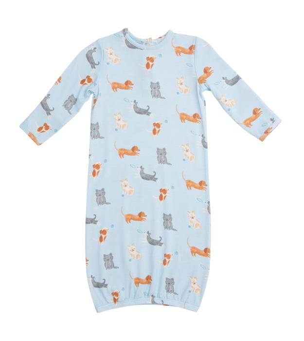 Blue Puppy Play Gown