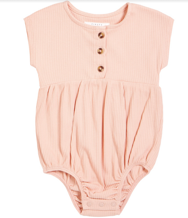 Rose Bubble Romper
