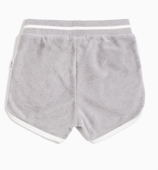 Light Grey Terry Shorts