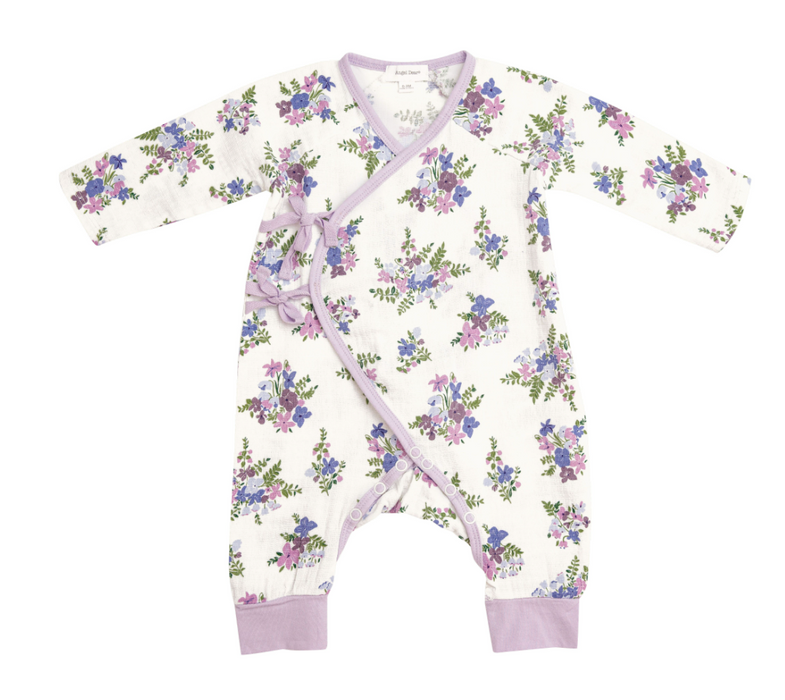 Lily of the Valley Wrap Coverall