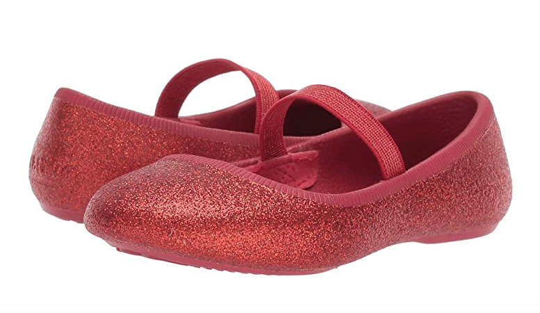 Margot Bling Ski Patrol Red Ballet Flat