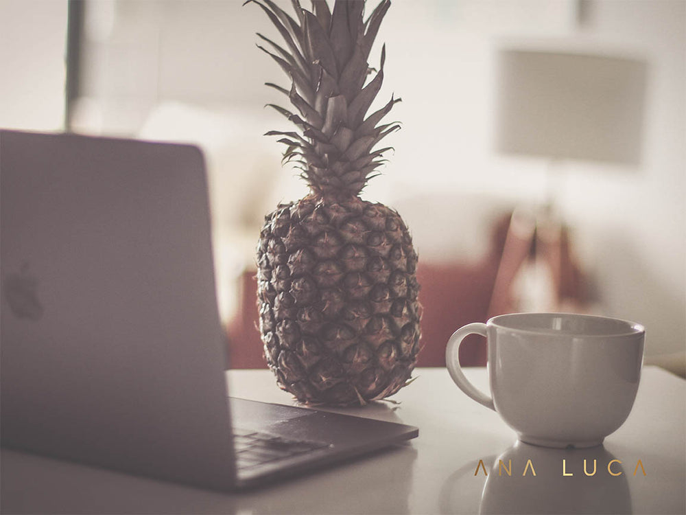 Pineapple Working Art by Ana Luca