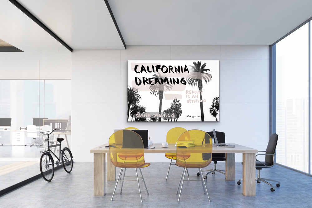 California Dreaming Art by Ana Luca