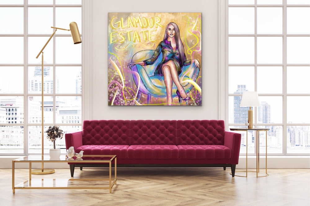 Glamour Estate Art by Ana Luca