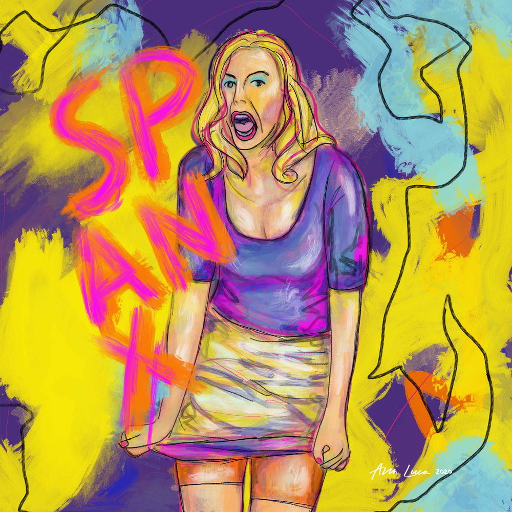 Come Get Your Spanx (Sara Blakely) Art by Ana Luca