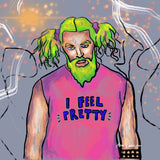 I Feel Pretty (Jason Momoa) Art by Ana Luca