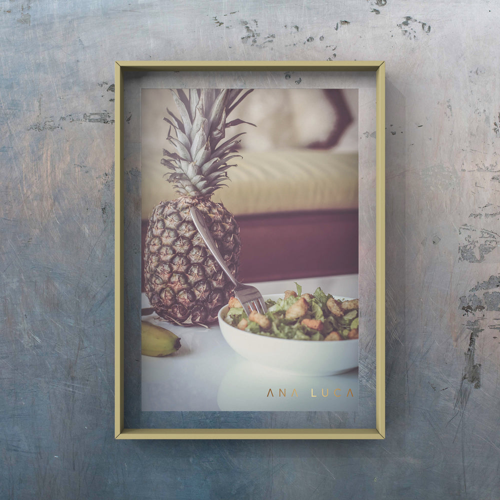 Pineapple Lunch Art by Ana Luca