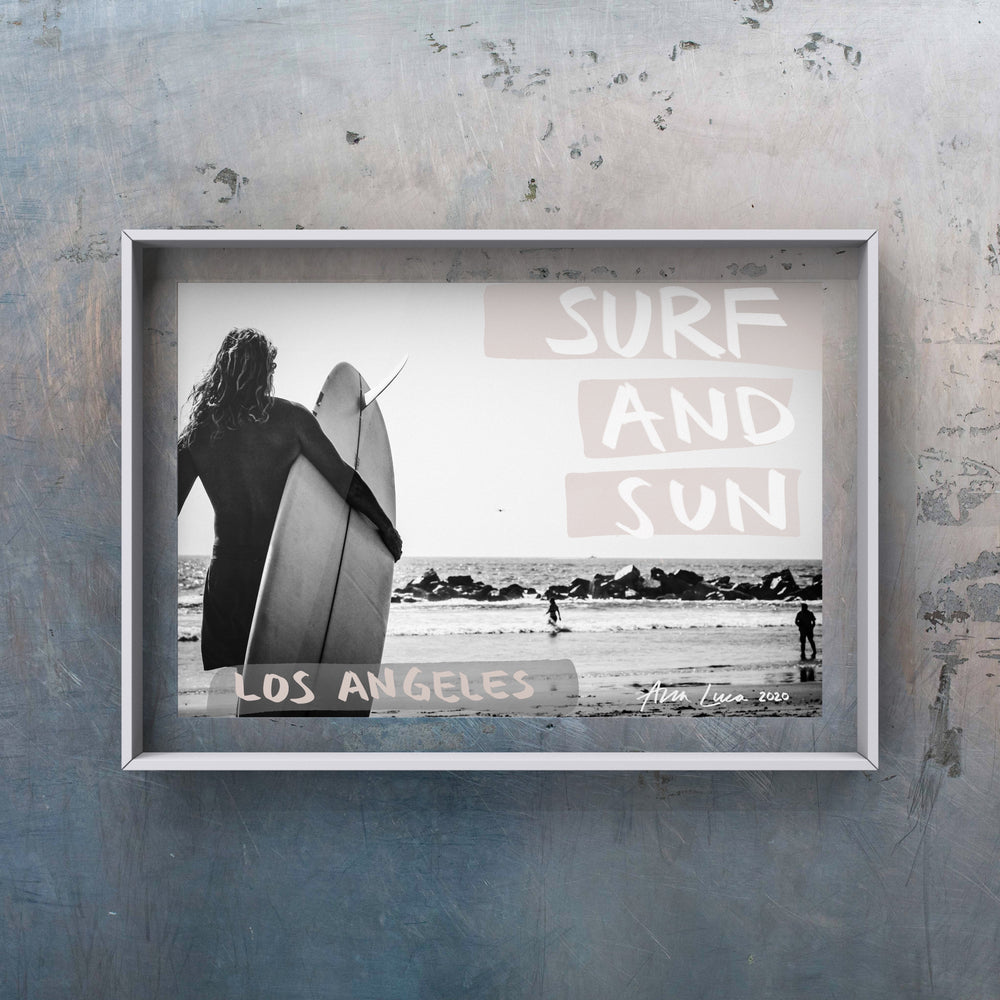 Surf and Sun Art by Ana Luca