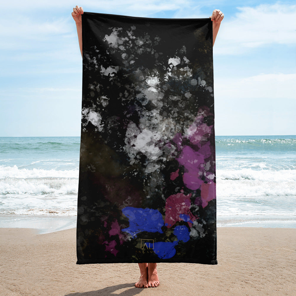 We Fought Beach Towel by Ana Luca