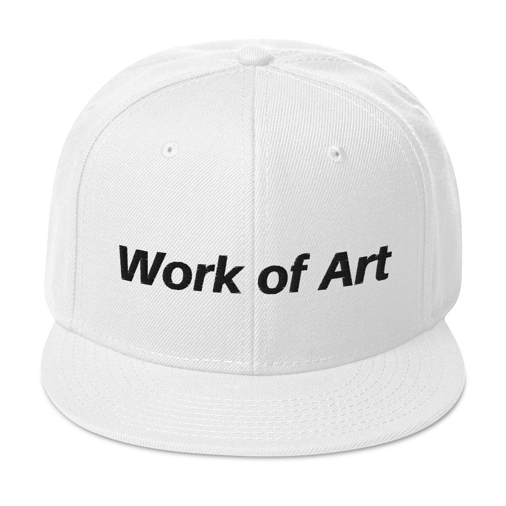 Work of Art White Unisex Premium Hat
