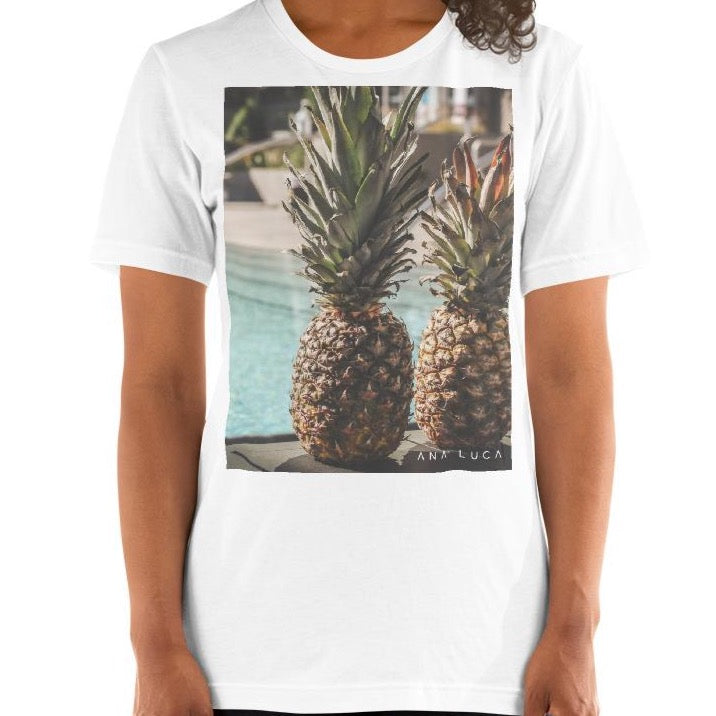 Pineapples At the Pool Unisex Premium T-Shirt