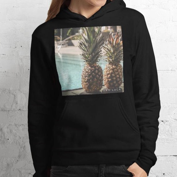 Pineapples At the Pool Unisex Premium Hoodie