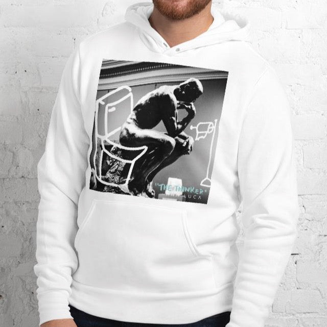 The Thinker Unisex Premium Hoodie
