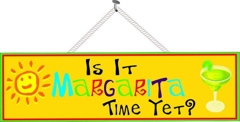 Margarita time sign
