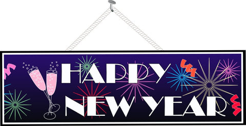 Happy New Year Sign