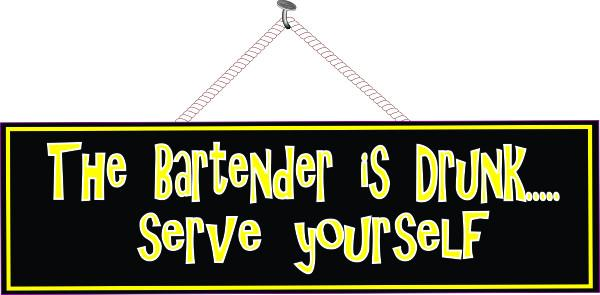 Bartending Quotes And Sayings: Fun Sign Factory