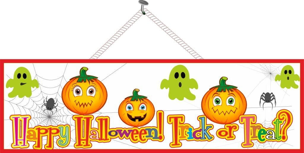 Ghost & Pumpkin Halloween Decoration for Kids