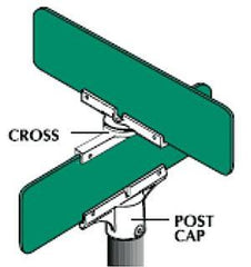 Personalized Street Sign Mounting Brackets