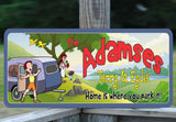 RV Camp Sign with Family Name