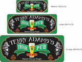 Personalized Irish Pub Bar Sign with Custom Text - 3 sizes