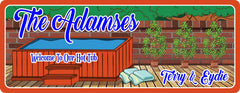 Personalized Backyard Hot Tub Welcome Sign With Plants, Towels, And Decking