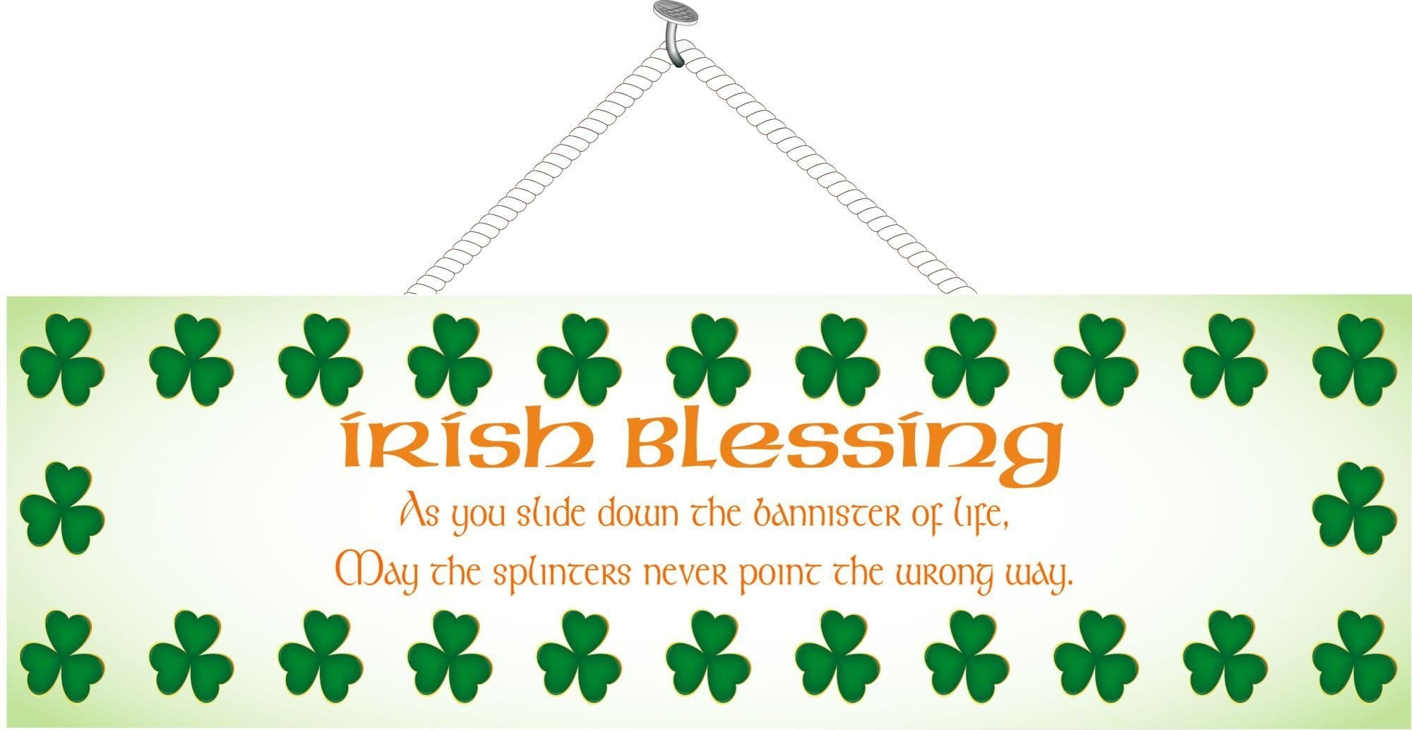 Irish Blessing Funny Quotes Fun Sign Factory
