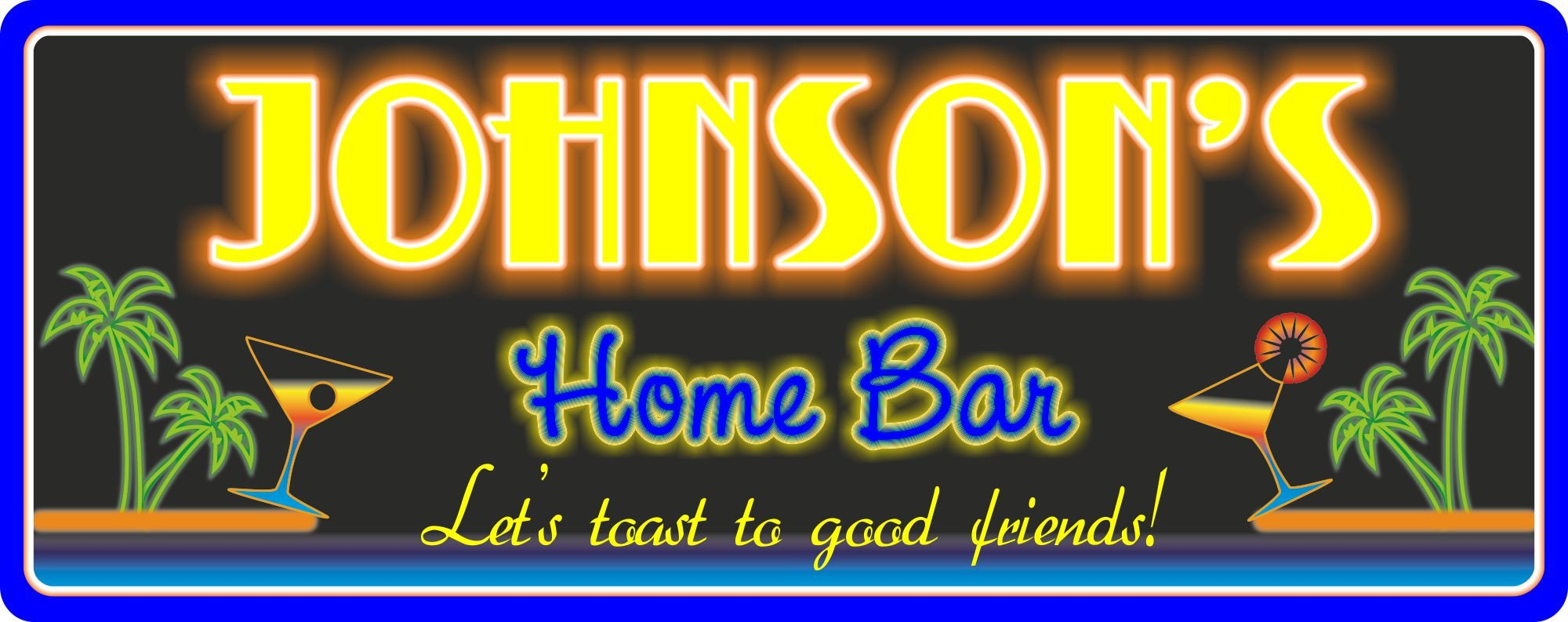 Neon Bar Sign | Personalized Signs | Fun Sign Factory