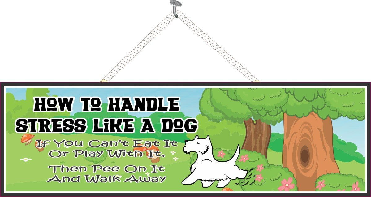 Funny Quotes Scottish Terrier Fun Sign Factory