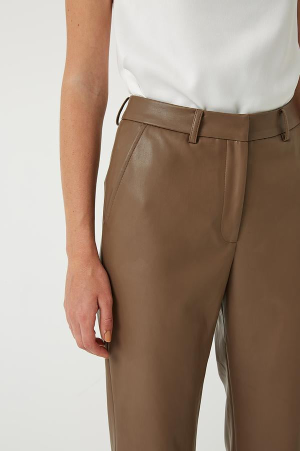ALEX CROPPED LEATHER PANT