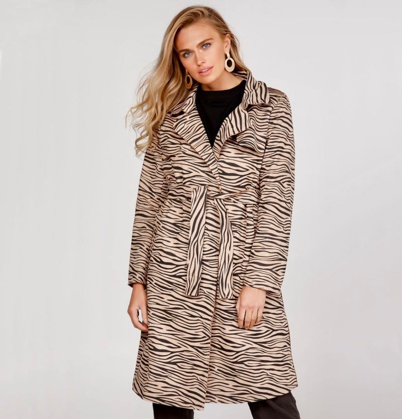 ZEBRA SAFARI TRENCH