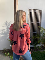 ESTELLE SEQUIN STAR TOP