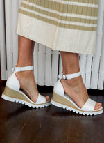 SADIE SHOE WHITE