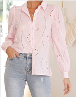 KNOWLES BLOUSE PINK