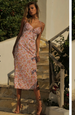 ZULLY DRESS LILAC FLORAL