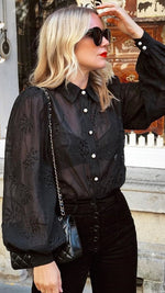 KNOWLES BLOUSE BLACK