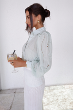 KNOWLES BLOUSE MINT