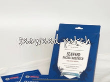Load and play video in Gallery viewer, Seaweed (Detox) Facial Care Patch(2PAIRS/BOX)