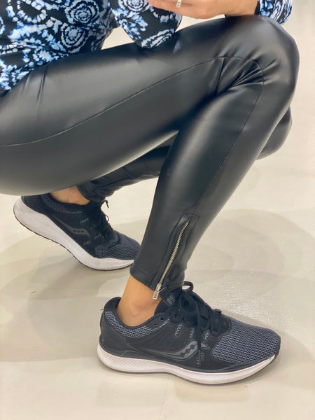 EVELYN ZIP LEGGINGS.