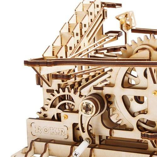 DIY Fun Toys Waterwheel Coaster DIY Marble Run Toy - DFToys