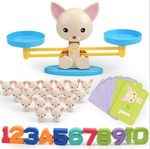 DIY Fun Toys Puppy Math Balance Games Educational Toys for Kids - DFToys