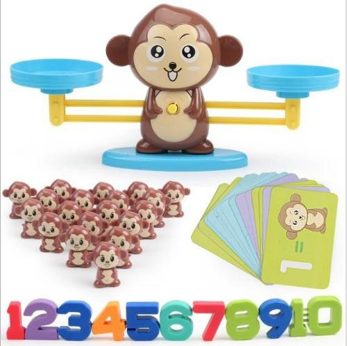 DIY Fun Toys Monkey Math Balance Games Educational Toys for Kids - DFToys