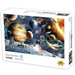 DIY Fun Toys Space Traveler 1000 Mini Pieces Jigsaw Puzzle for Adults - DFToys
