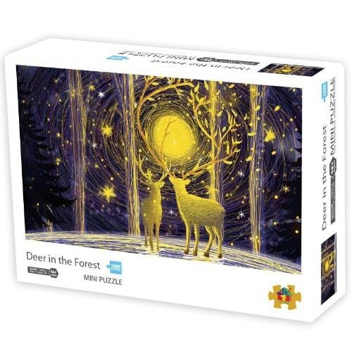 DIY Fun Toys Deer in the Forest 1000 Mini Pieces Jigsaw Puzzle for Adults - DFToys