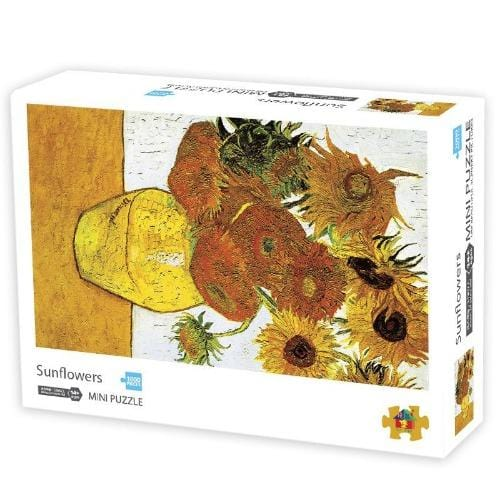 DIY Fun Toys Sunflowers 1000 Mini Pieces Jigsaw Puzzle for Adults - DFToys