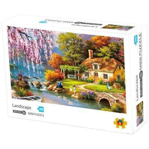 DIY Fun Toys Landscape 1000 Mini Pieces Jigsaw Puzzle for Adults - DFToys