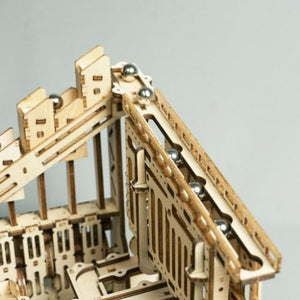 Cog Coaster DIY Marble Run Toy - DFToys