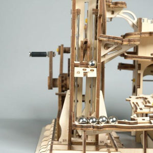 Tower Coaster DIY Marble Run Toy - DFToys