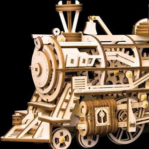Movable Locomotive Mechanical Building Kits - DFToys