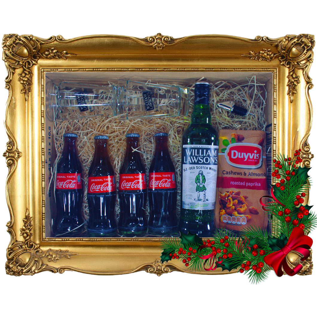 William Lawson's & Cola Xmas Box